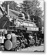 Steam Engine Train Metal Print