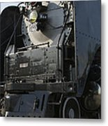Steam Engine U P 844 Metal Print