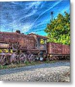 Steam Locomotive No 1151 Norfolk And Western Class M2c Metal Print