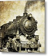 Steam Locomotive No. 334 Metal Print