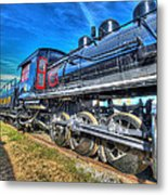 Steam Locomotive Virginian Class Sa No 4 Metal Print