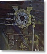 Steam Machine Metal Print