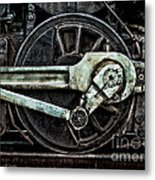 Steam Power Metal Print by Olivier Le Queinec