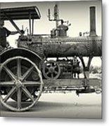 Steam Power Tractor Metal Print