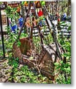 Steam Shovel Bucket Metal Print