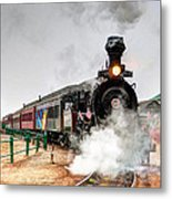 Steam Train 45 Metal Print