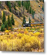 Steam Train 5 Metal Print
