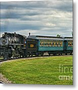 Steam Train Tr3627-13 Metal Print