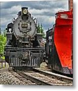 Steam Train Tr3637-13 Metal Print