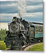 Steam Trains Tr3629-13 Metal Print