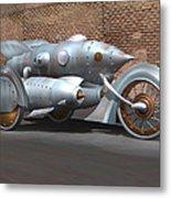Steam Turbine Cycle Metal Print