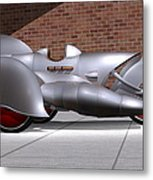 Steam Turbine Trike  Metal Print