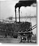 Steamboat, C1900 Metal Print
