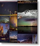 Steamboat Nights Metal Print