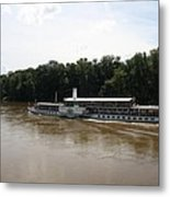 Steamboat River Elbe Germany Metal Print