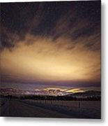 Steamboat Stars And Clouds Metal Print