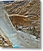 Steaming Steps Metal Print