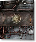 Steampunk - Connections   Metal Print