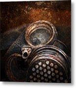 Steampunk - Doomsday  Metal Print by Mike Savad