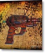 Steampunk - Gun - Ray Gun Metal Print