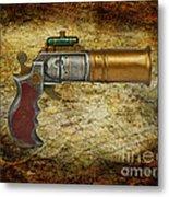 Steampunk - Gun - The Ladies Gun Metal Print