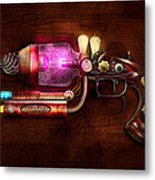 Steampunk - Gun -the Neuralizer Metal Print