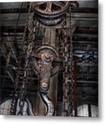 Steampunk - Industrial Strength Metal Print by Mike Savad