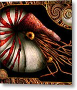Steampunk - Nautilus - Coming Out Of Your Shell Metal Print