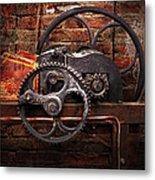 Steampunk - No 10 Metal Print by Mike Savad