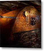Steampunk - Plumbing - The Home Of A Stoker  Metal Print by Mike Savad
