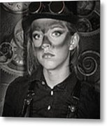 Steampunk Princess Metal Print
