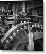 Steampunk - Runs Like Clockwork Metal Print