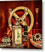 Steampunk - Spare Gears - Mechanical Metal Print