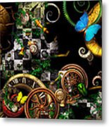 Steampunk - Surreal - Mind Games Metal Print