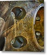 Steampunk Turbine Metal Print