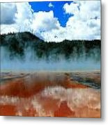 Steams And Reflections Metal Print