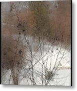 Steamy Window Metal Print