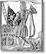 Stede Bonnet (c1688-1718) Metal Print