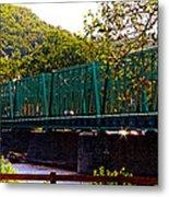 Steel Bridge Metal Print