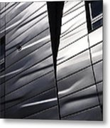 Steel Currents Metal Print