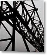Steel Lift Metal Print