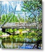 Steel Span Bridge Gettysburg Metal Print