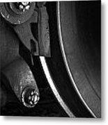 Steel Wheel I Metal Print