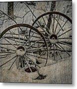 Steel Wheels Metal Print