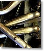 Steely Arms Metal Print