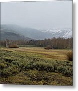 Steens Mountain Landscape - No 2a Metal Print