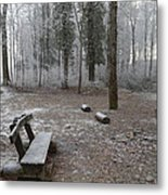 Steep And Frost - 3 Metal Print