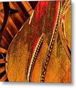 Steinway Piano Golden Inners Metal Print