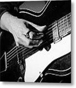 Stella Burns - Guitar Close-up Metal Print
