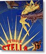 Stella Petrol Metal Print